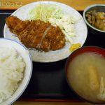 荏原食堂 - とんかつ定食