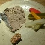 炭火ぶた串焼 風味堂 - 豚肉のパテ