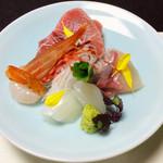 うなぎ・日本料理 ゑびす家 - 向付