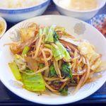 中華酒膳 幸龍 - 日替わり定食 ※2015.10.8 豚肉のピリ辛山椒炒め