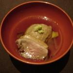 かみのやま温泉 葉山館 翠葉亭 - 蕎麦がき揚げ鴨仕立て