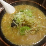 栄雅  - 野菜らーめん味噌:720円
