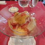 アルカション - 料理写真:ウニとオマール海老を使ったムース コンソメジュレ 絶品!