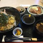味あい - 天丼と唐揚げ