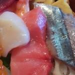 金太楼鮨 - イクラ、ホタテ、中とろ、旬の秋刀魚