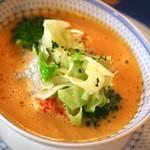 42913916 - ロブスターと秋野菜フリカッセ