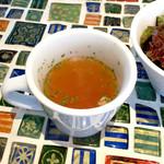ピッツェリア アネッロ - スープ! ( ̄Д ̄)ノ