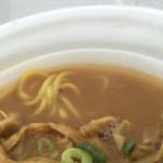 麺匠 佐蔵 - スープ(第2回まるひろ川越ラーメンフェスティバル)