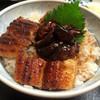 喜多川 - 料理写真:肝入うなぎ丼のアップ