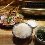 もうもう亭 - お好み定食C ¥1590