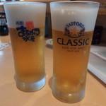回転寿司函館まるかつ水産 - 北海道に来たらサッポロクラシック飲みたいよね★