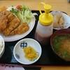レストランぶぉーの - 料理写真:チキンカツランチ  650円