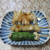 ハマケイ - 料理写真:上からヤゲン軟骨串(塩)、ぼんじり串(塩)、梅しそ串(塩)