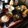 和洋創菜 えびね - 料理写真:おすすめランチ  日替わりみたいですが、今日はエビフライとハンバーグと白和えなどなど  1280円