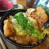 ごかく - 料理写真:とんかつ丼600円のベーシック。衣とカツが分離して・・・出汁より辛さの強い味わい