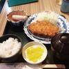 かつ楽 - 料理写真:カツ定食80g
