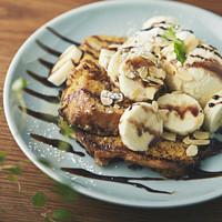 サイドディッシュ アパートメント - チョコとバナナのフレンチトースト。安定の組み合わせです!