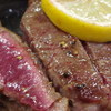 フレッシュマート三平 - 料理写真:肉の断面。この色、この厚み。たまりません!!