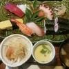 中宿来 - 料理写真:握り盛り合わせランチ