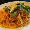 中目黒バール・デルソーレ - 料理写真:秋刀魚とトマトと水菜のペペロンチーノ