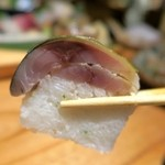 魚金 - 鯖棒寿司