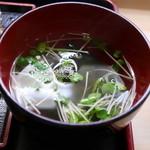 米作 - お吸い物
