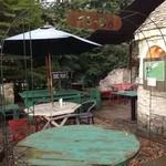 cafe KO-BA - ちょっと寂れた、時を感じる庭ちゃん