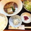 和料理 八車 - 料理写真:煮魚定食(金目鯛)850円