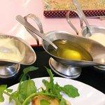 レストラン 桃山 - ソースが3種類