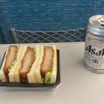 旅弁当 駅弁にぎわい - ヒレカツボックス(480円)