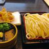 いしうす庵 - 料理写真:とり天ざるうどん大(*´д`*)680円