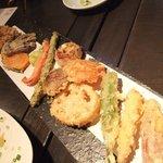 銀杏 - 野菜天ぷら盛り合わせ