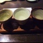 銀杏 - 日本酒飲み比べ