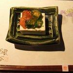 銀杏 - チーズ豆腐