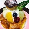 シュー・クルール - 料理写真:フルーツMIXシュークリーム   ¥400