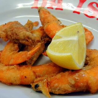 ピッツエリア エ トラットリア ダ イーサ - 料理写真:海老のフリット