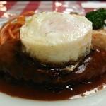 煉瓦亭 - ハンバーグステーキ