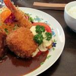 浅井食堂 - ④Mixフライ