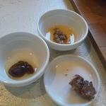 あじと cafe日びの - 料理写真:ご飯のお伴