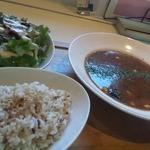 あじと cafe日びの - 料理写真:豆じゃらけカレーセット ¥970
