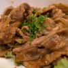 銀の里 - 料理写真:メインは「豚の生姜焼き」。コレめちゃウマ!!