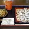 登喜和家 - 料理写真:もりそば 太麺