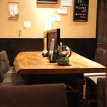 まるやま - テーブル席