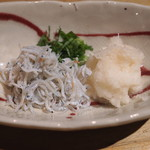 まるやま - しらす辛味おろし (2015/09)