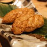 まるやま - 蕎麦がきのさつま揚げ風 (2015/09)