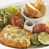 トリプルカフェ - 料理写真:お得な!お食事フレンチトーストプレート(^^♪