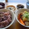niji cafe - 料理写真:ランチBチキンとゴロゴロ野菜のオーロラ煮900円