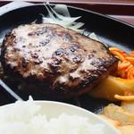 ファイヤーバーグ - 580円『ハンバーグセット150g』2015年10月吉日