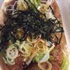 たこ焼き和 - 料理写真:カリカリのねぎ醤油( ̄▽ ̄)