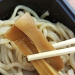 麺堂 稲葉 - メンマは唯一ありふれた存在となってました。